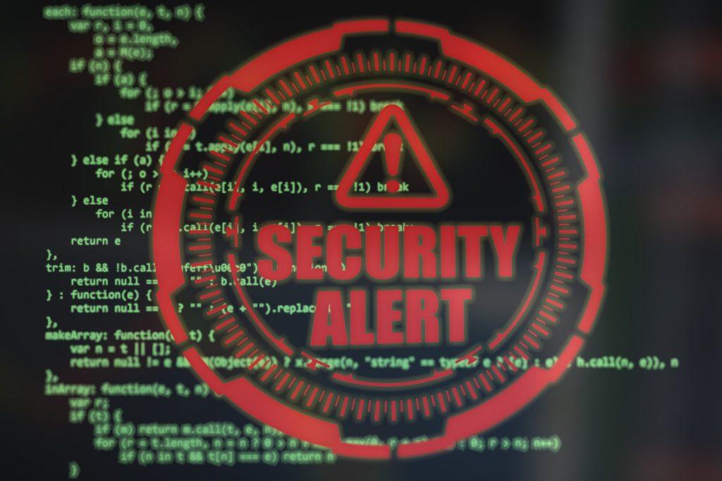 security alert fałszywa informacja