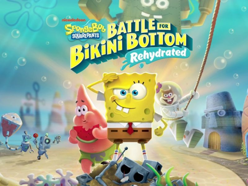 SpongeBob SquarePants Battle for Bikini Bottom – Rehydrated – dziś premiera