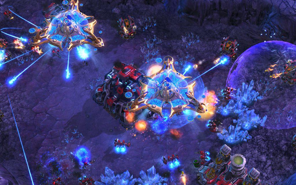 Porady StarCraft Jak grać Protossami