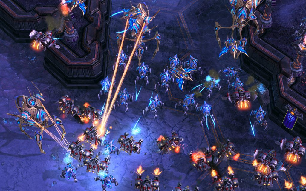 StarCraft 2 legacy of the Void jak grać protossem