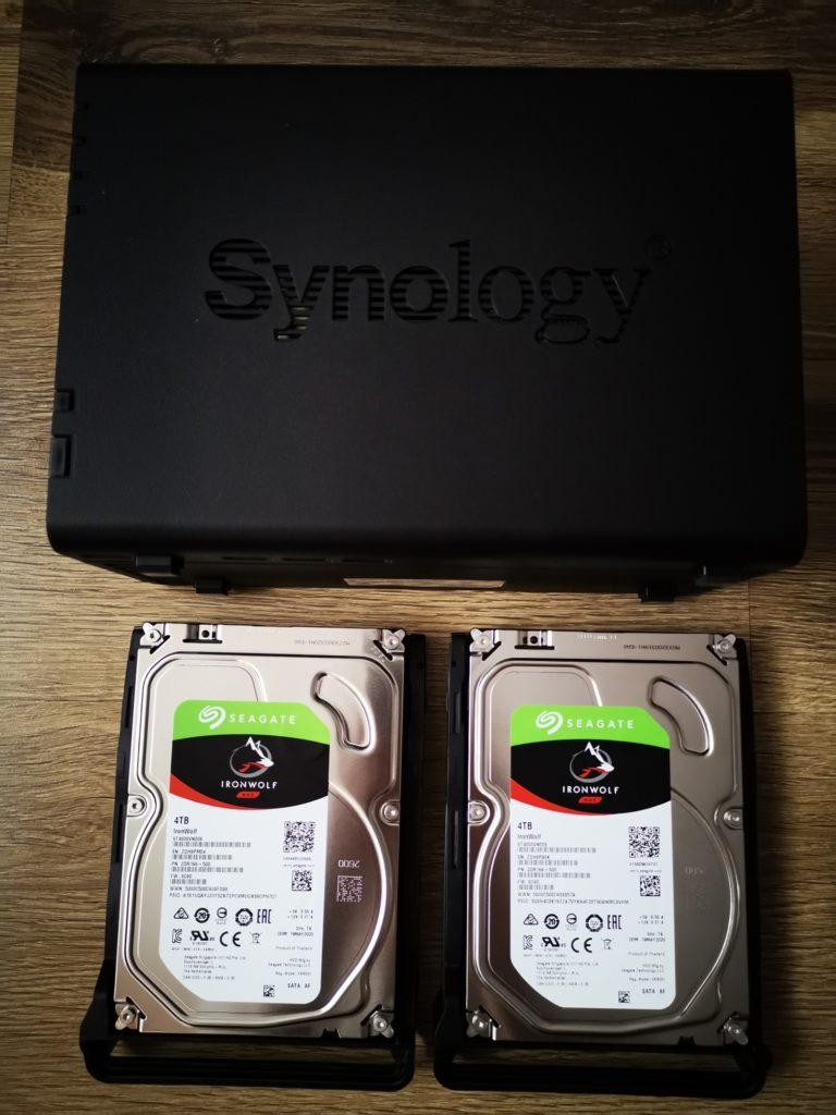 Dyski serwera NAS Synology DS218