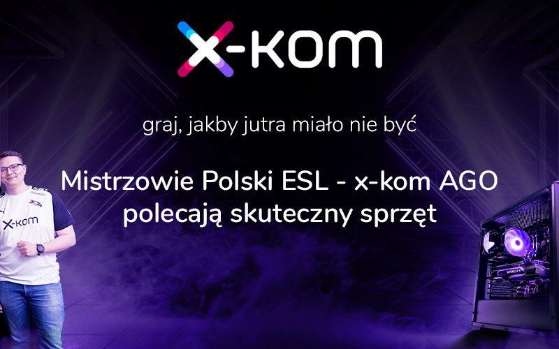 Tydzień desktopów w x-komie. Mistrzowie Polski ESL w CS:GO polecają skuteczny sprzęt