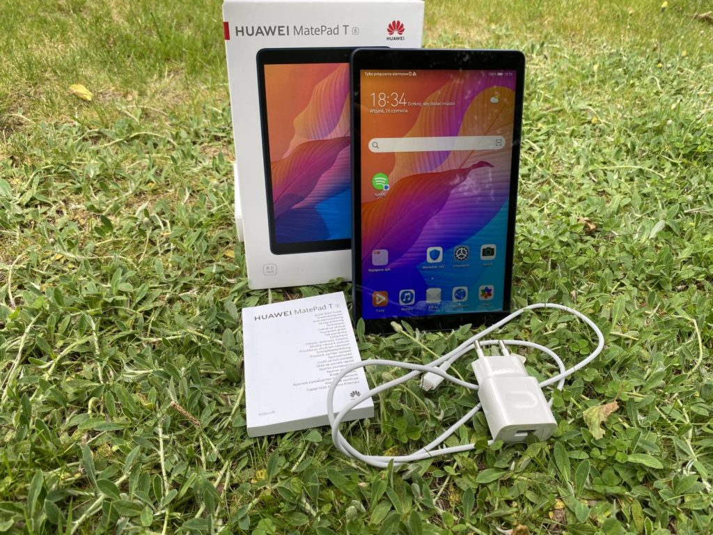 unboxing Huawei MatePad T8