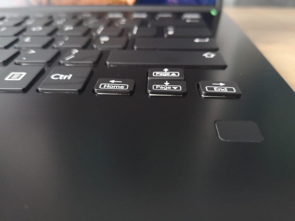 Vaio SX14 czytnik skaner linii papilarnych