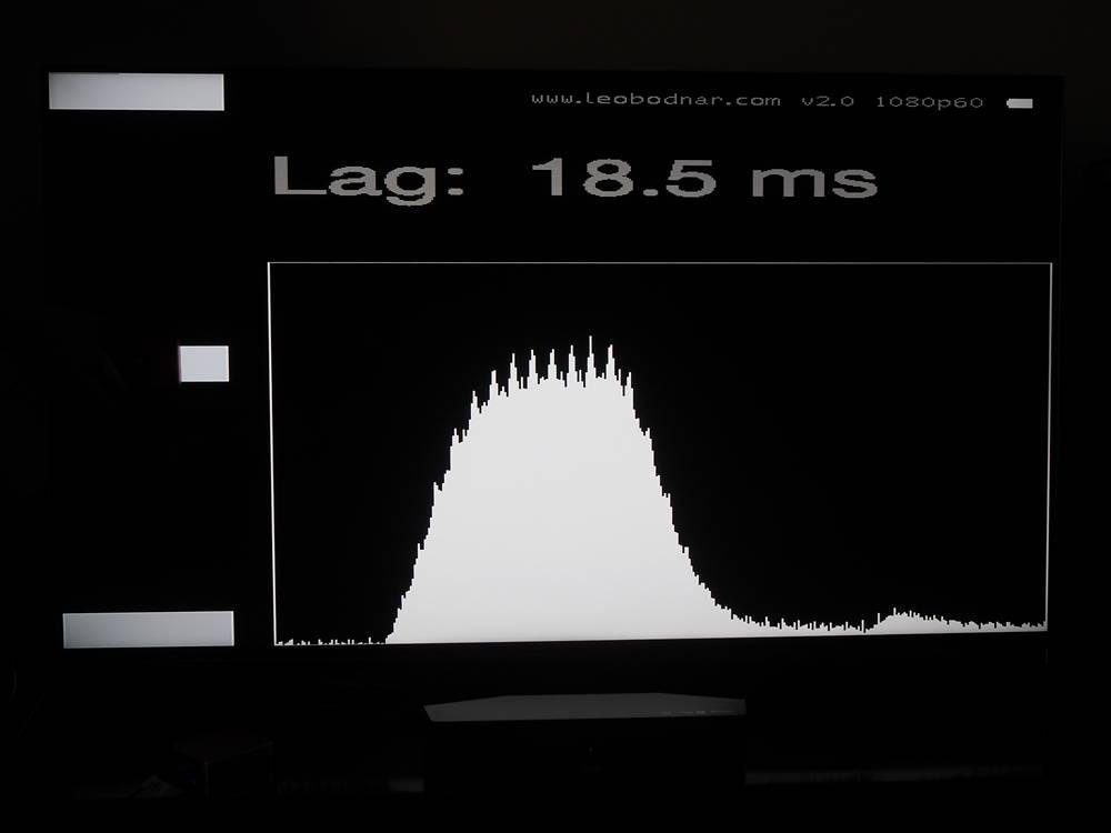 input lag telewizora sony-kd55xh9505