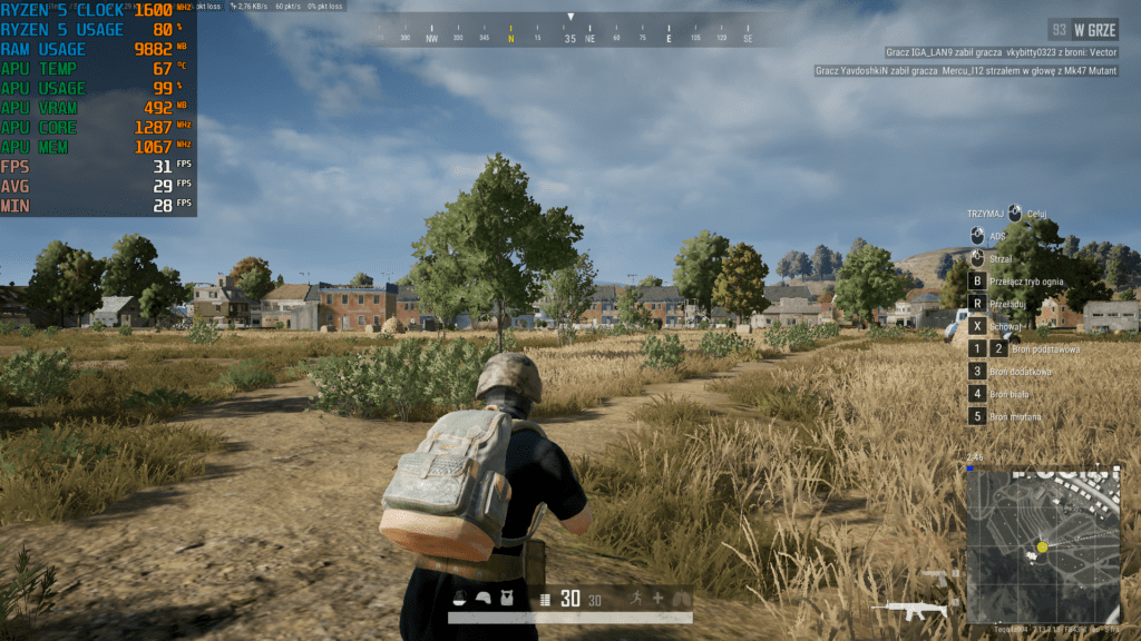 Acer Swift 3 Ryzen 5 4500U PUBG test 2
