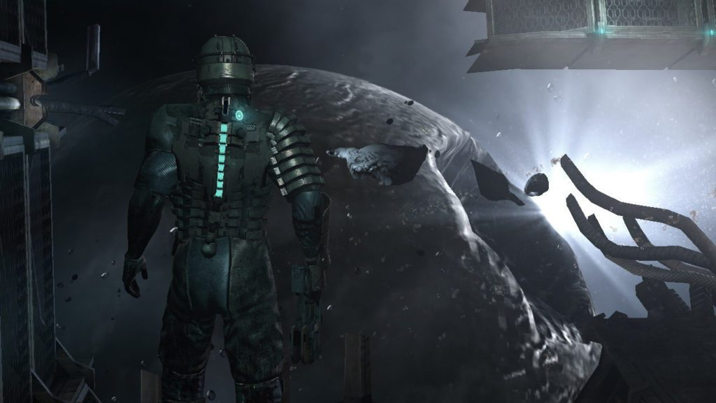 Dead Space kosmos i stacja kosmiczna