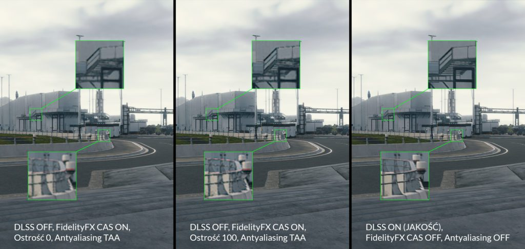 Death Stranding technologia DLSS przykład 2 jakość