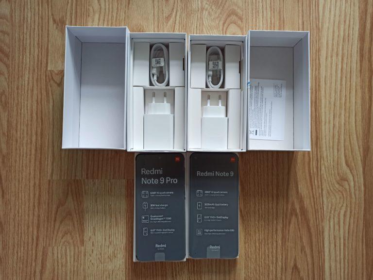 Redmi Note 9 i 9 Pro