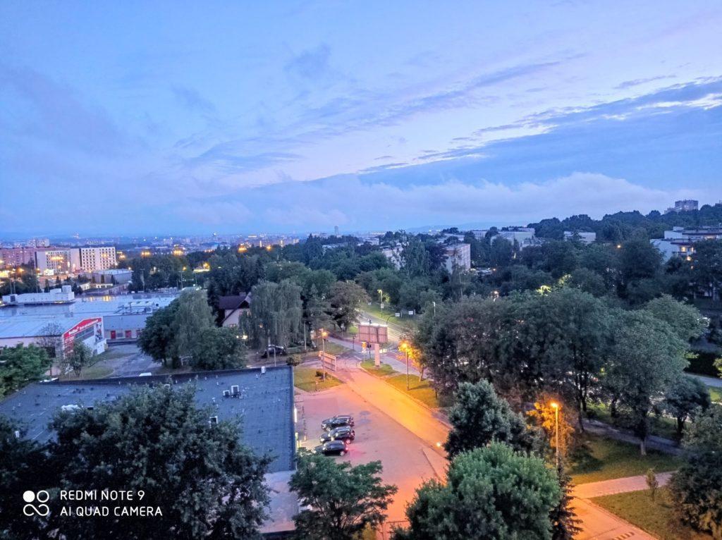 zdjęcie nocne Redmi Note 9
