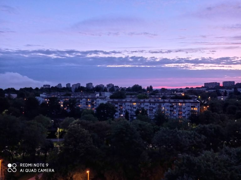 zdjęcie nocne z Redmi Note 9