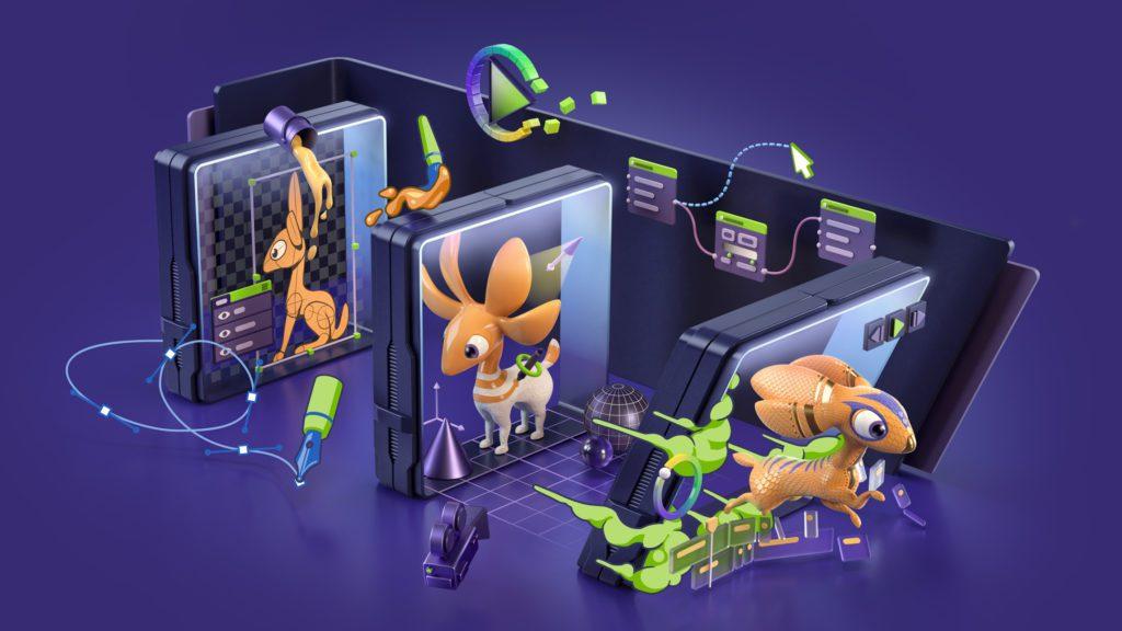 RTX Studio rendering grafika 3d