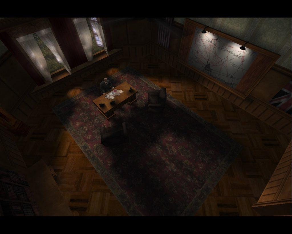 Return to Castle Wolfenstein anglia lokacja w grze