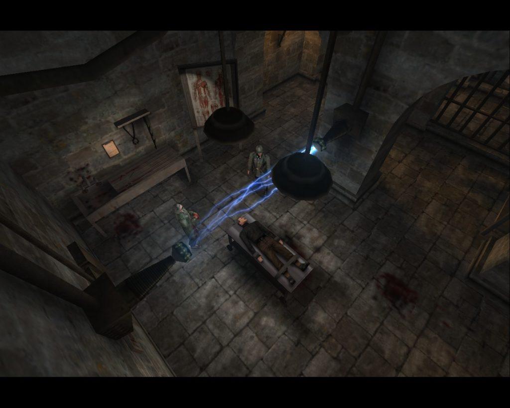 Return to Castle Wolfenstein tortury początek gry