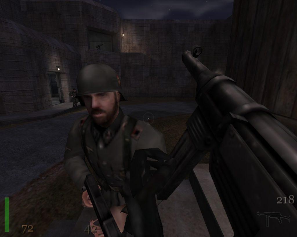 Return to Castle Wolfenstein wojsko wermachtu