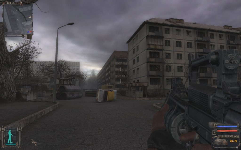 STALKER Shadow of Chernobyl miasto Prypeć