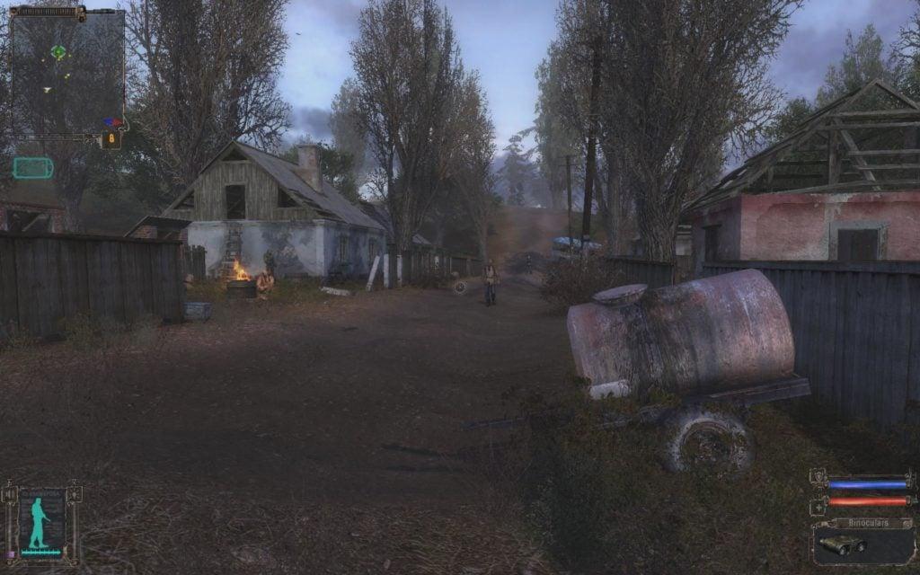 STALKER Shadow of Chernobyl Ukraina początek gry