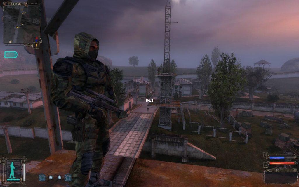 STALKER Shadow of Chernobyl stalker postać