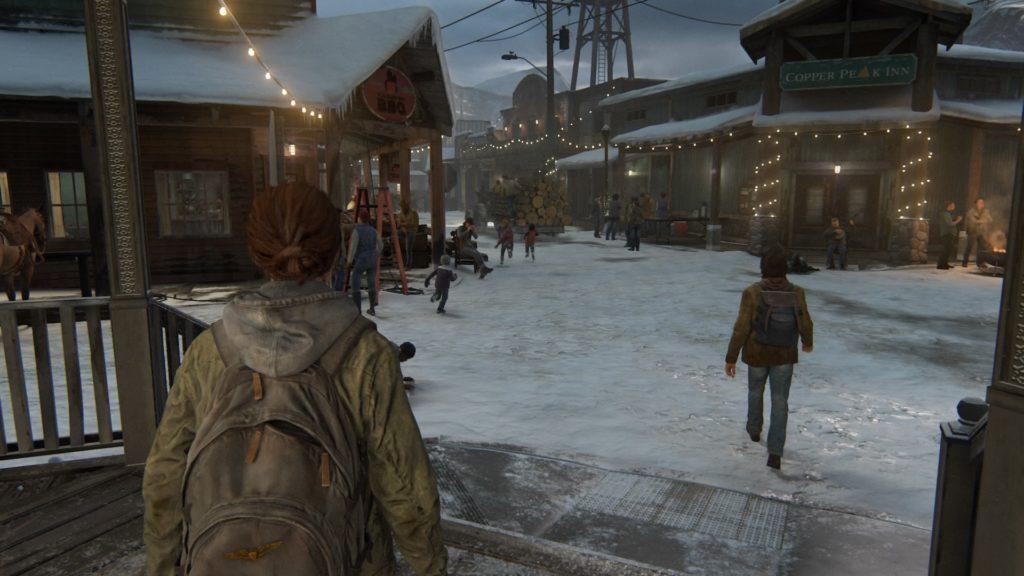 The Last of Us Part II Jackson początek gry