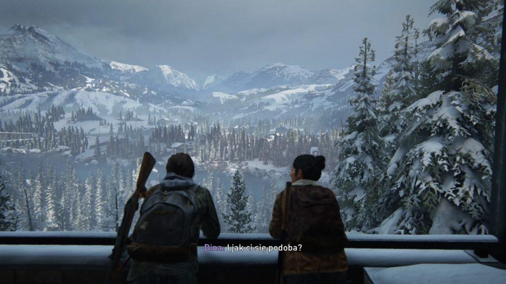 The Last of Us Part II Ellie i Dina nad Jackson