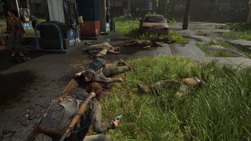 The Last of Us Part II Ellie po walce