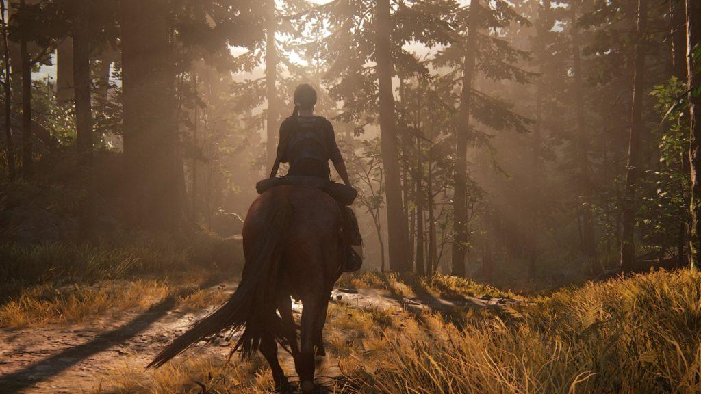 The Last of Us Part II lasy i oświetlenie