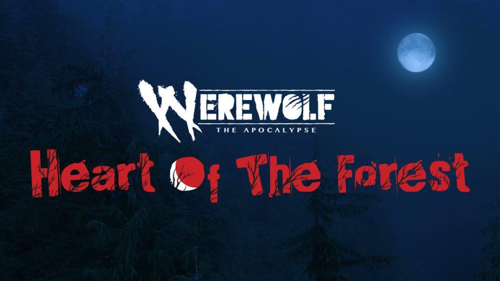 Werewolf: The Apocalypse tapeta i logo