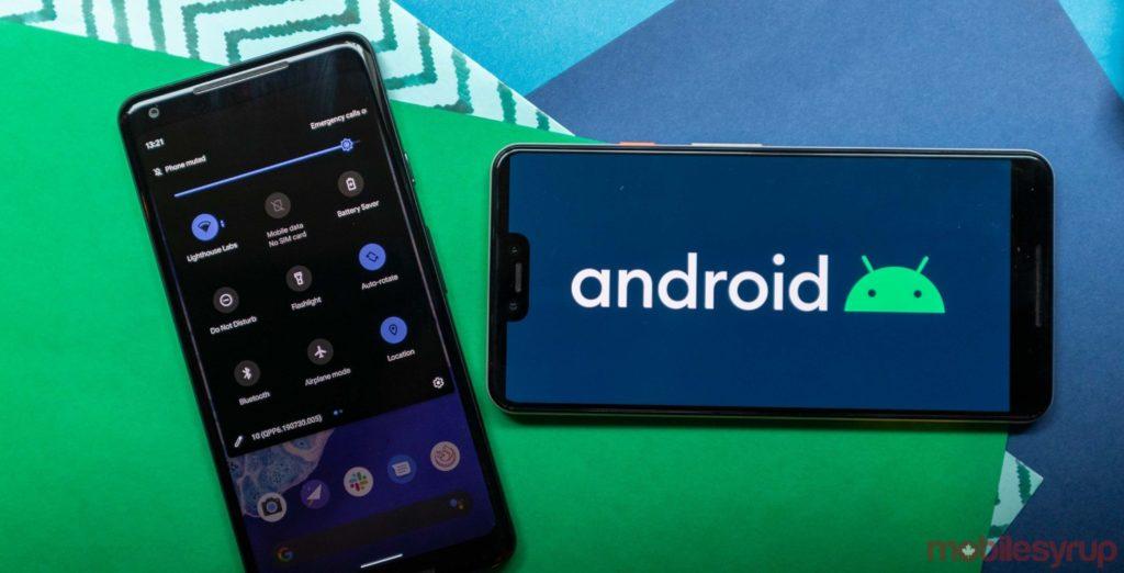 android 10 ikona