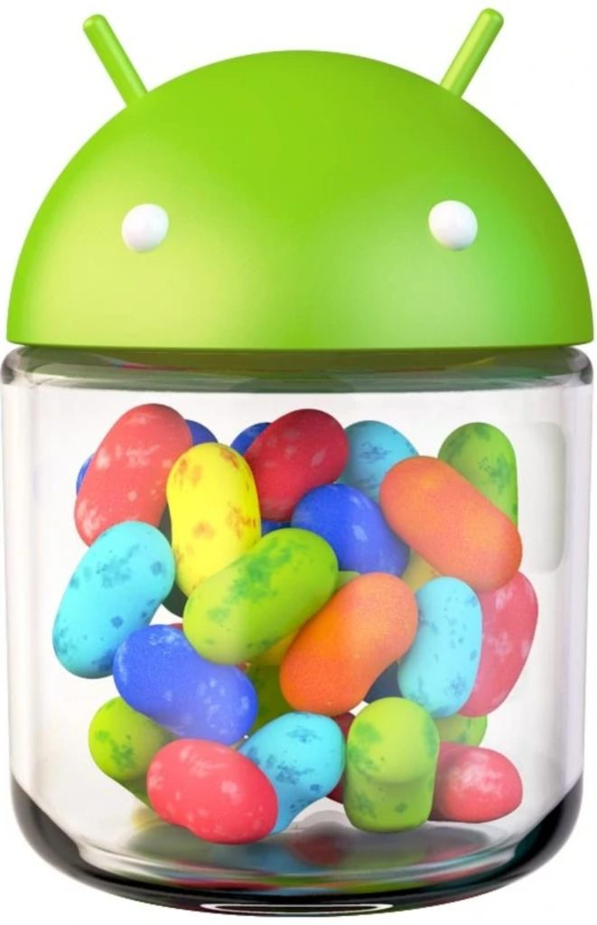 Android Jelly Bean ikona