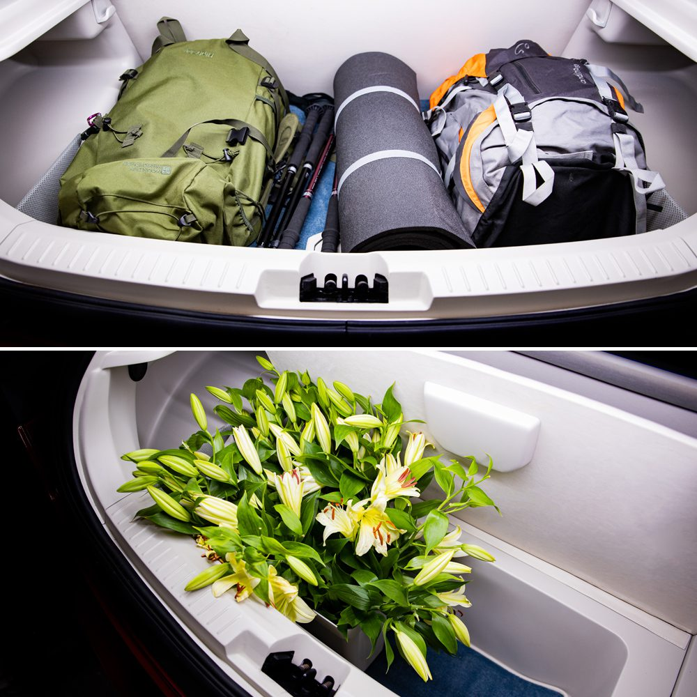pojemny bagażnik