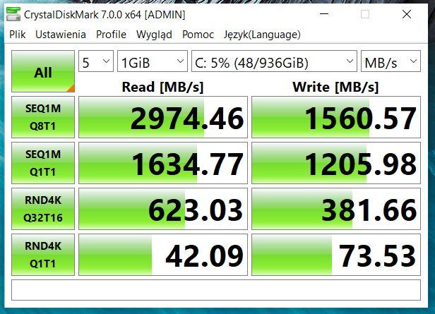 Crystal Mark CPU-Z XPS 15 9500
