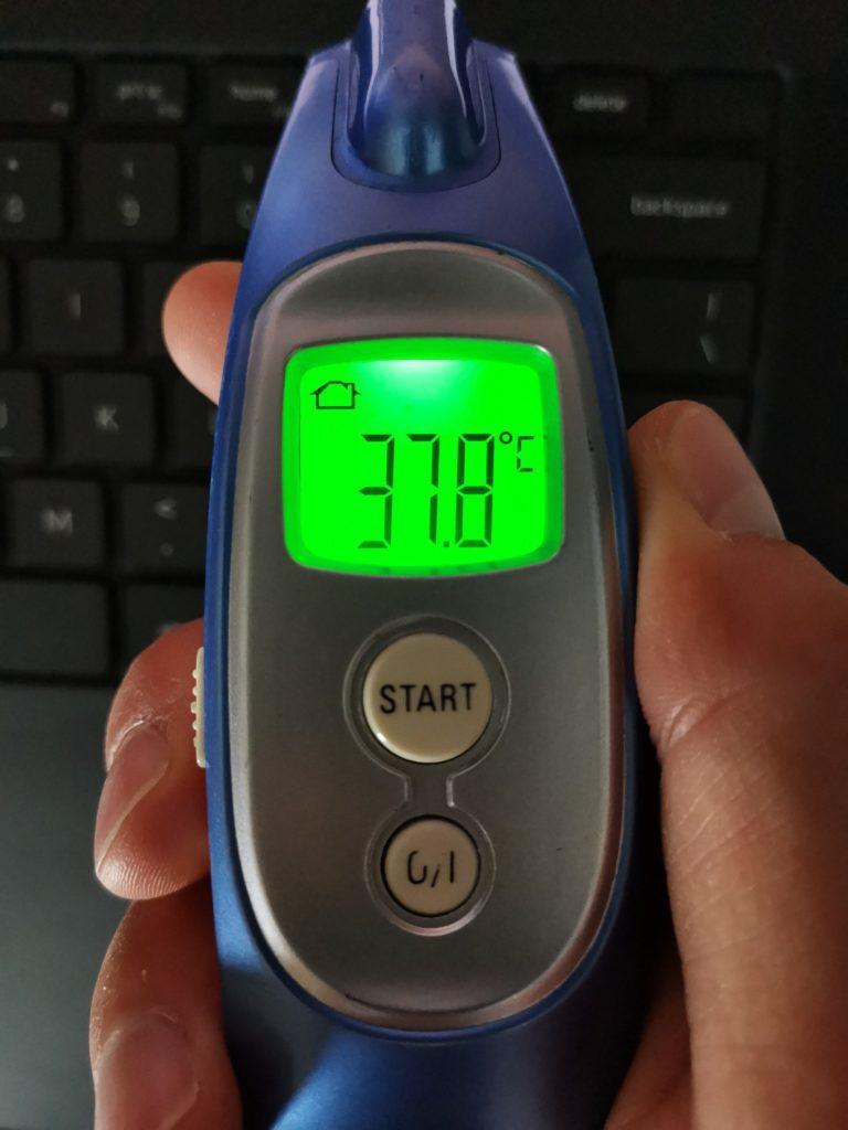 Dell XPS 15 9500 temperatura pod obciążeniem