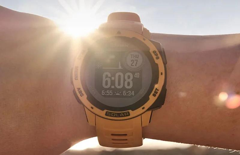 Słońce plus technologia równa się słoneczne zegarki Garmin
