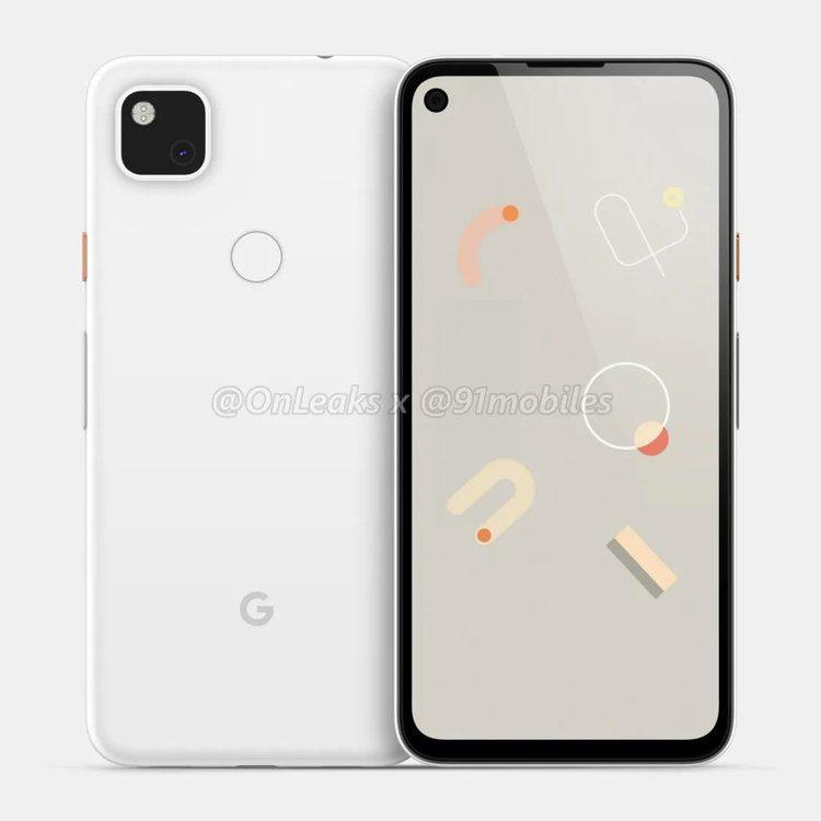 google pixel 4a wygląd