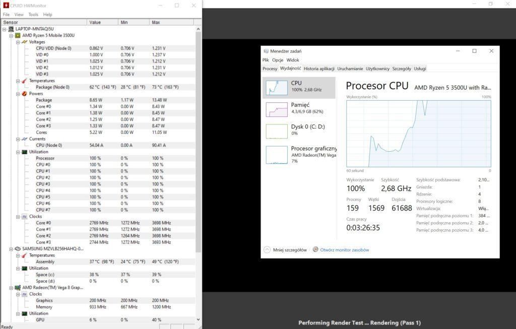 MateBook 13 Ryzen HW Monitor
