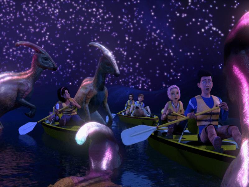 """Życie znalazło drogę na Netfliksa. Trailer animowanej serii """"Jurassic World"""""""