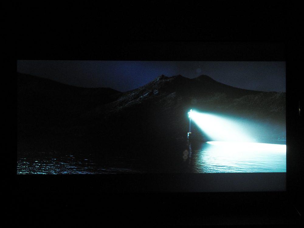 kadr z filmu ocean ognia na ekranie 55xh9505