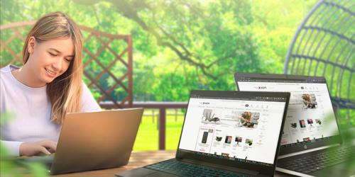 Laptopy dla domu i biura. Wybierz wydajny sprzęt o eleganckim wyglądzie