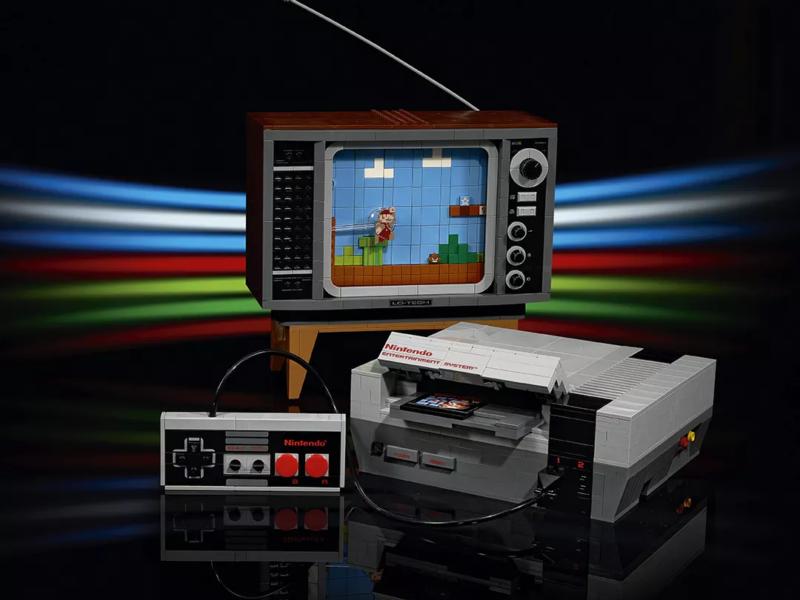 Zagrajmy w te klocki. Konsola NES z LEGO wkrótce na rynku