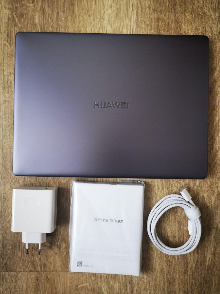 MateBook 13 Ryzen dołączone akcesoria