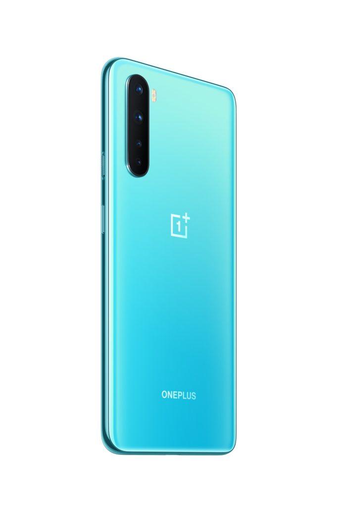 OnePlus Nord niebieski aparat główny