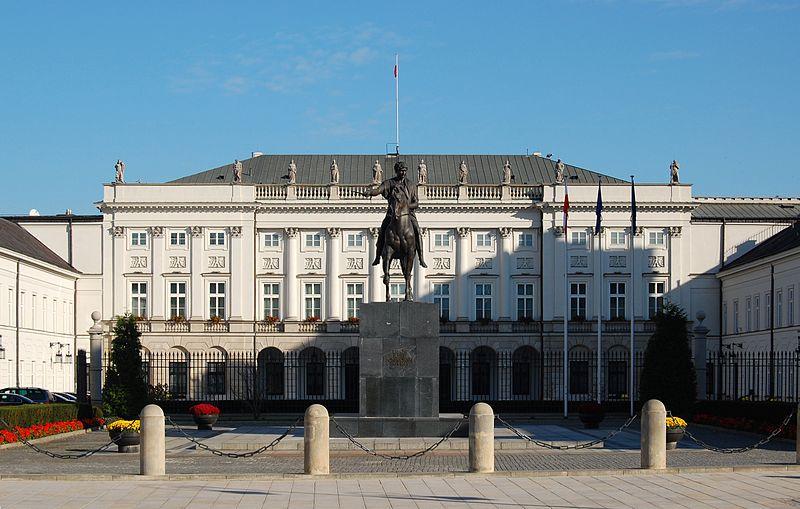 pałac prezydenski