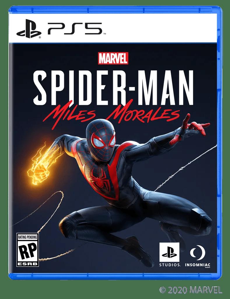 spider-man miles morales pudełko