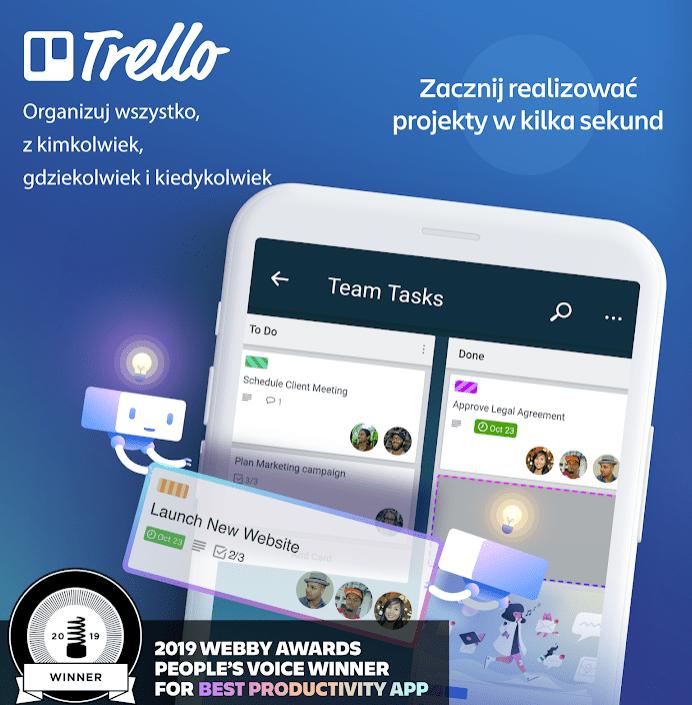 trello aplikacja android ios