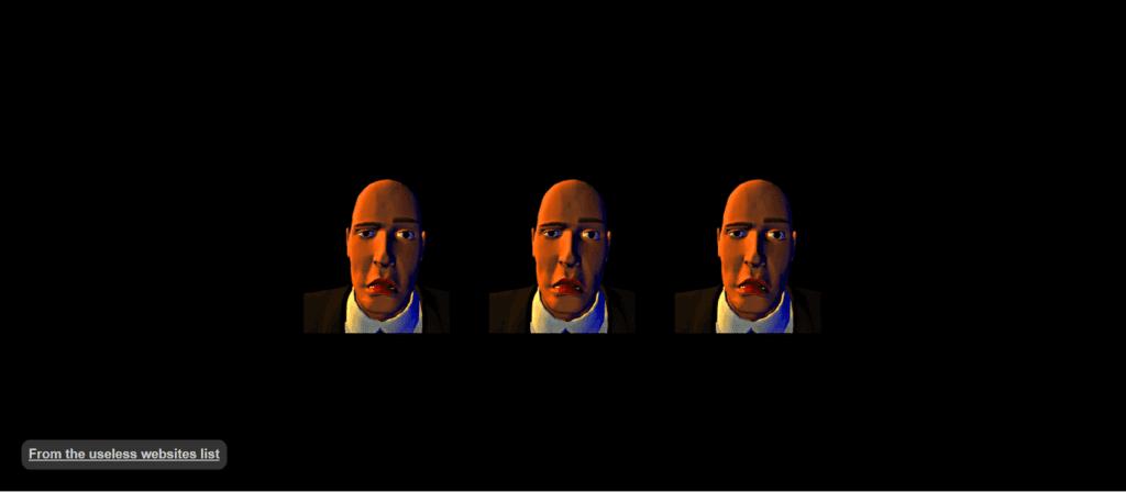 trzy głowy