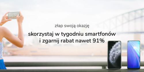 Tydzień smartfonów w x-kom. Ceny niższe nawet o 91%