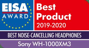 wyróznienie EISA dla słuchawek Sony WH1000XM3