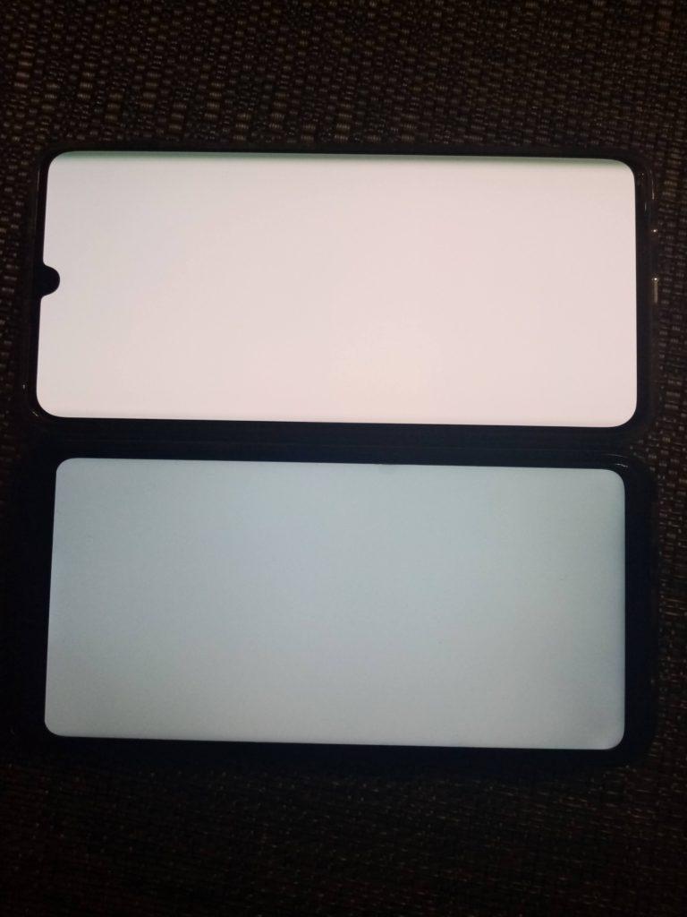 oled vs ips porównanie bieli