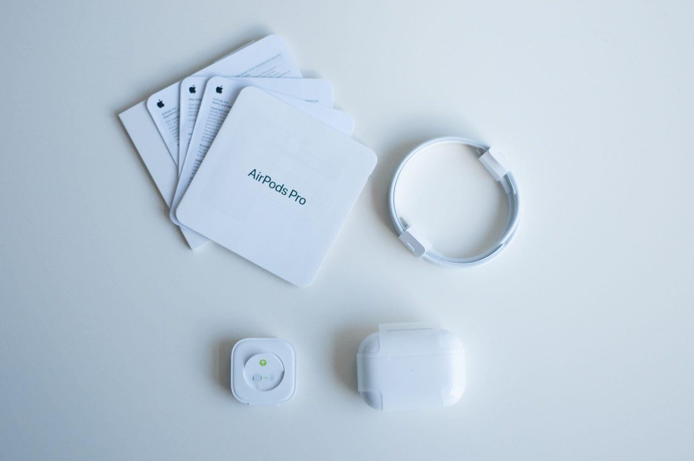 zestaw apple airpods pro
