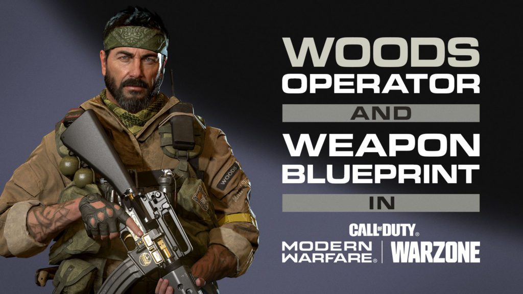 operator woods call of duty Black Ops cold war